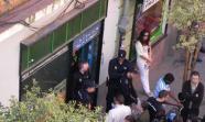 Detención de un inmigrante senegales en el Centro Social Fe 10.