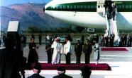 JUAN PABLO II EN CHILE. El difunto Papa junto a Pinochet en Chile en 1987.