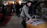 Acto de presentación de 'ÄôMadrid15M'Äô el 4 de febrero en el centro social Eko, recuperado por la Asamblea Popular de este distrito madrileño. Foto: Álvaro Minguito
