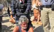 En la imagen, el activista Guido Fissore. Foto: Valentina Natale.