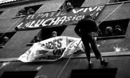 INTENTO DE DESALOJO. El pasado 22 de enero cientos de personas impidieron el desalojo del centro social. Jose Alfonso / ISOPRESS